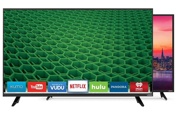 flat screen televisions with streaming services