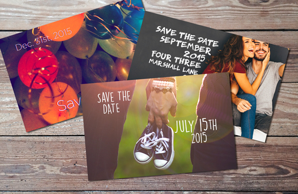 7 save the date ideas