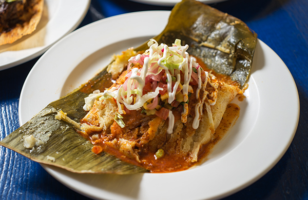 A Tamale That Shucks the Cornhusk