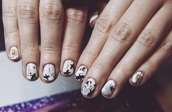 Five Nail Art Design Ideas to Spice Up Basic Manicures_Arty