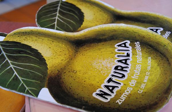Naturalia, zumos naturales en Valencia