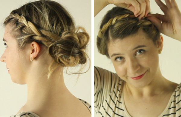 the braided updo two ways a video tutorial