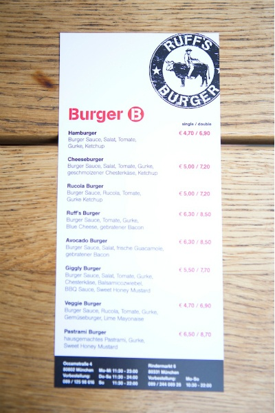 Ruffs Burger München