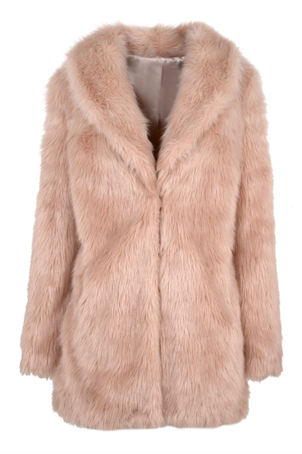 Faux Fur coat by BHS
