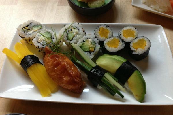 Vegetarian Sushi from Umezushi