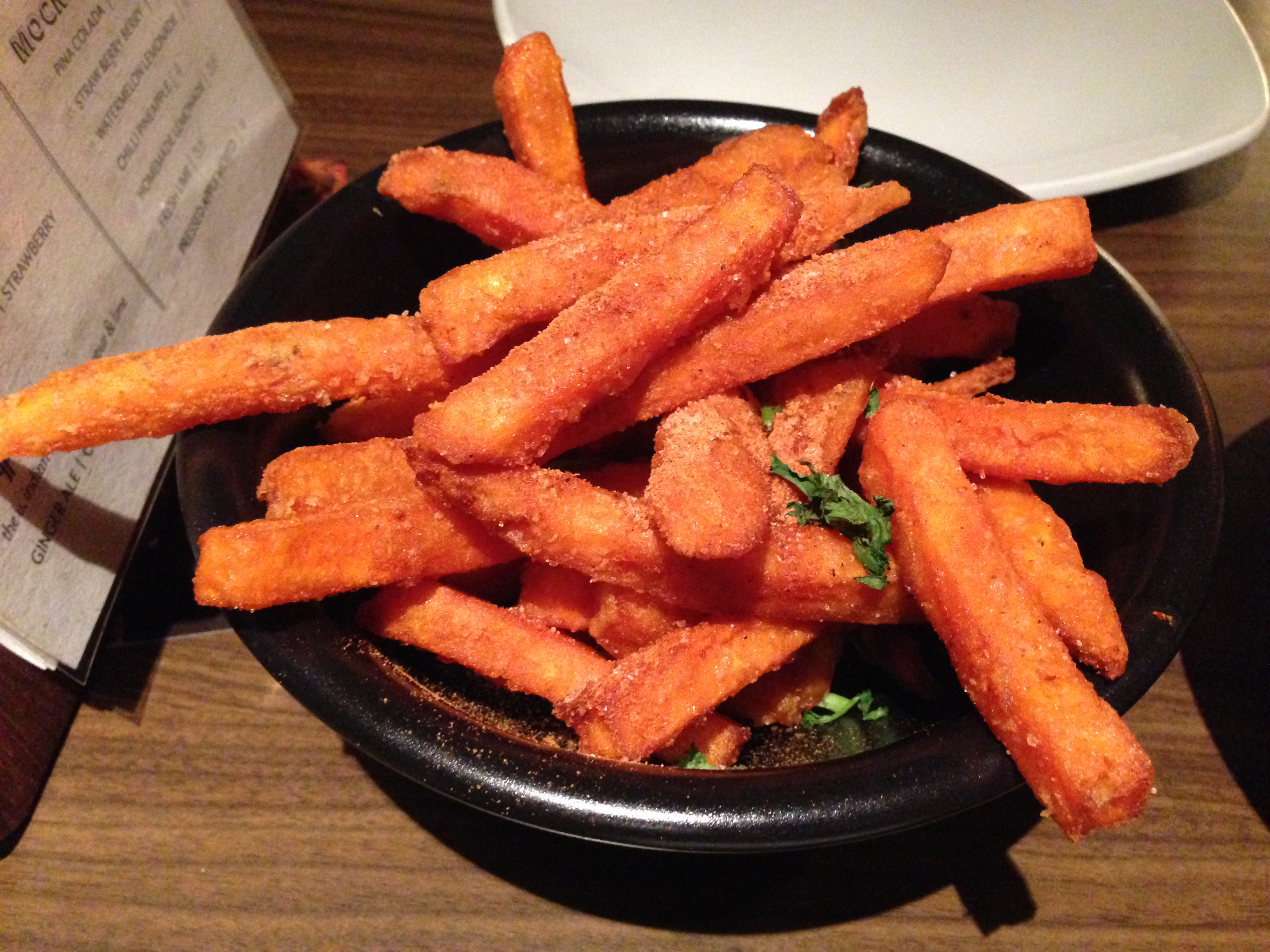 Gunpowder chips from Mughli Manchester