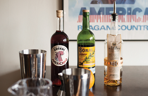 A Home Bar's Essential Bottles, Glassware, and Tools