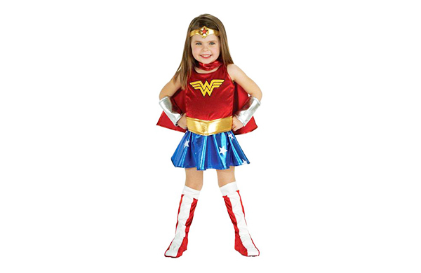 Sure To Be The It Costume Of 2017 This Wonder Woman Is Not Only One Cutest Options For Any Little Girl Its Also Coolest