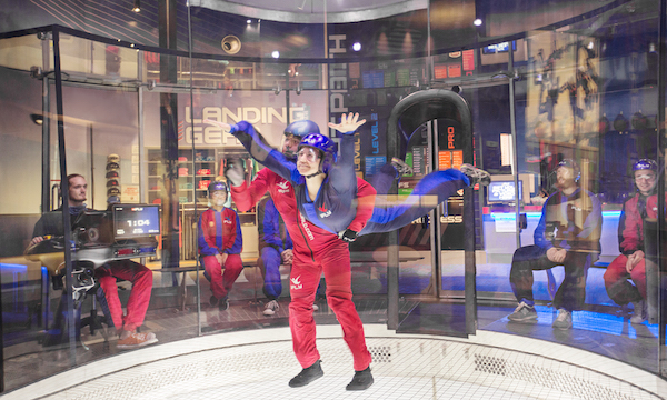 Indoor Skydiving Assisted Float