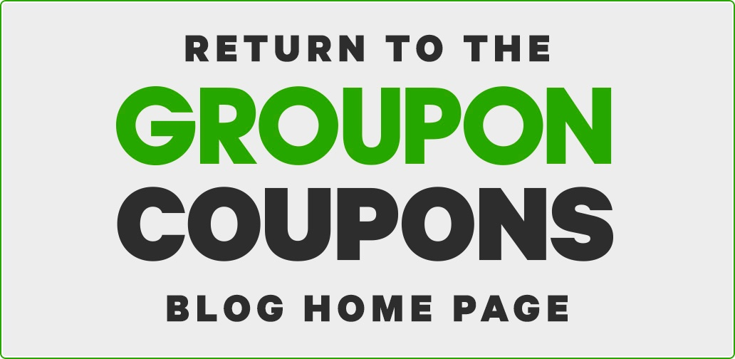 Groupon Coupons blog homepage
