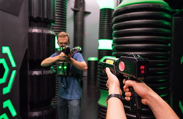 How to Play Laser Tag (and Win) As an Adult