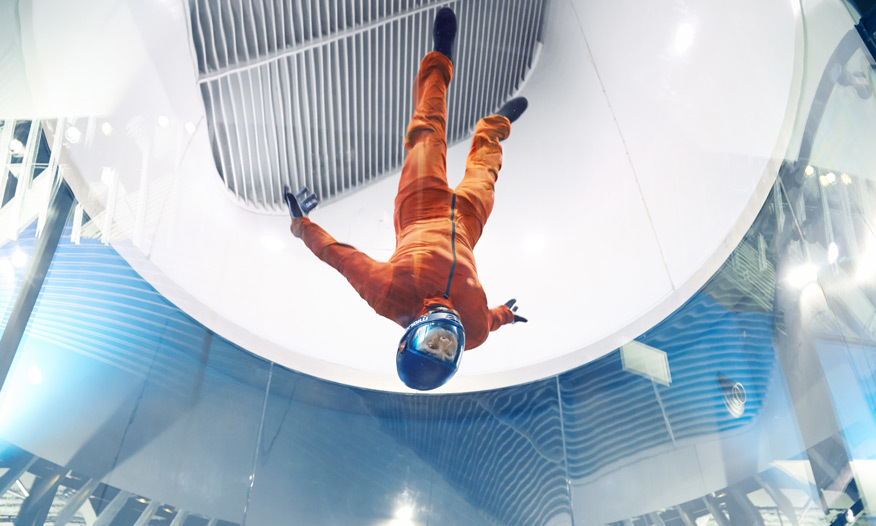 What is an Indoor Skydiving Simulator REALLY Like?