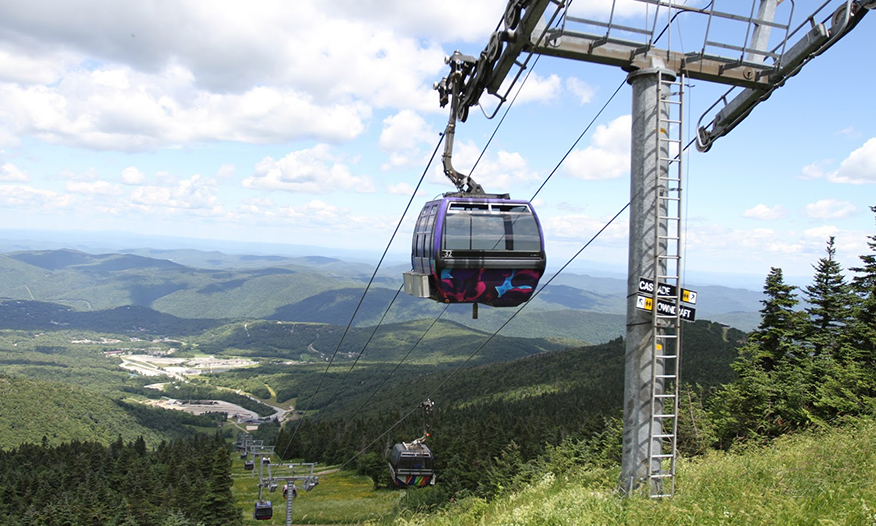 Gondola Ride at Killington Mountain