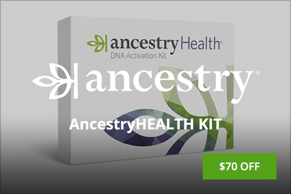 Ancestry Health Kit Black Friday deal