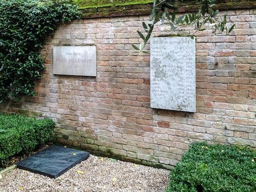 tomba peggy guggenheim