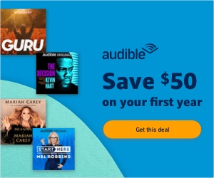 Audible Prime Day Deal