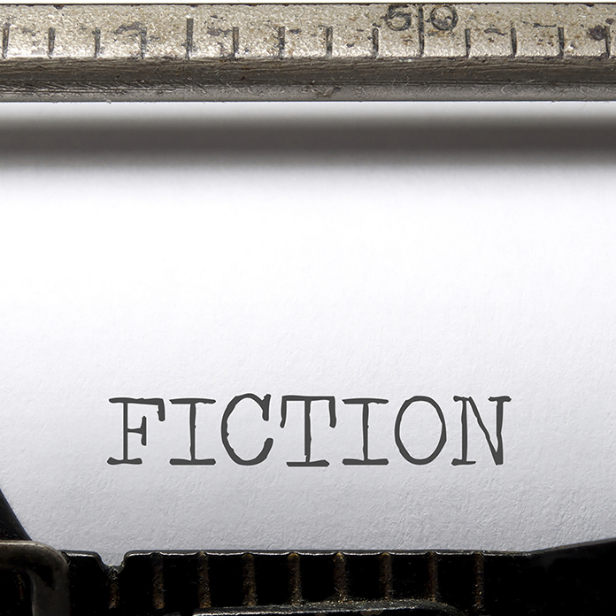 typewritten word fiction