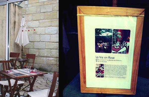 La Vie en Rose, thé et gourmandises à Bordeaux