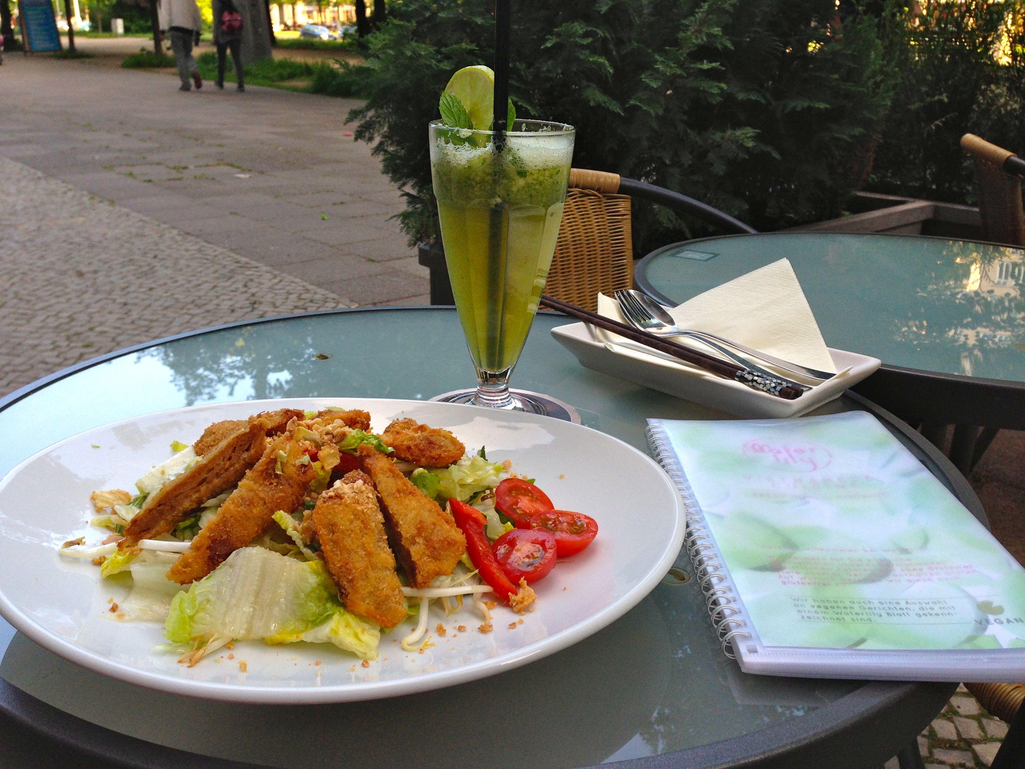 Vegane asiatische Küche im Waterlily