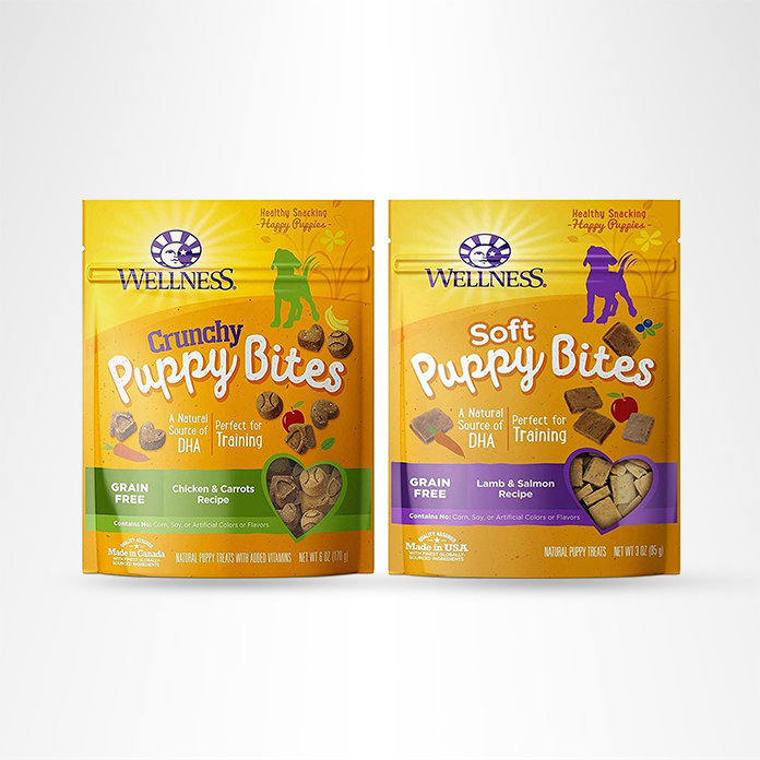 Wellness Crunchy Puppy Bites for Dogs