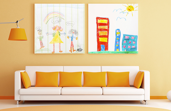 Art Lessons for Kids Custom Canvas