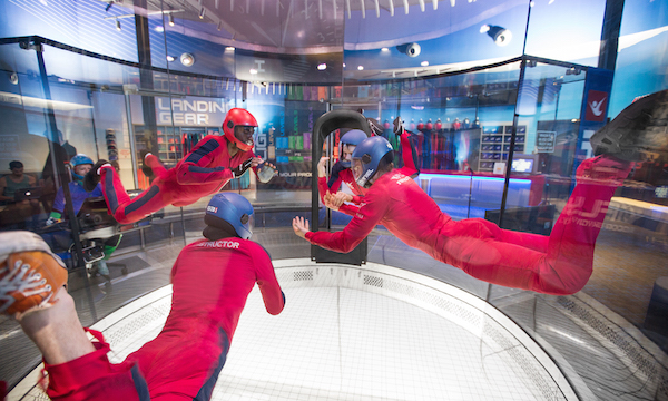 Indoor Skydiving Is An Out Of Body Experience