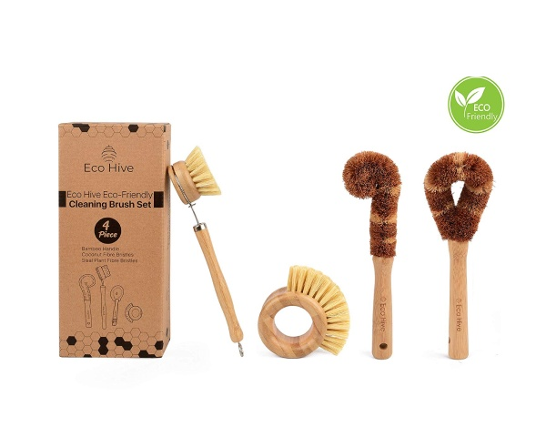 Eco Hive Cleaning Brush Set