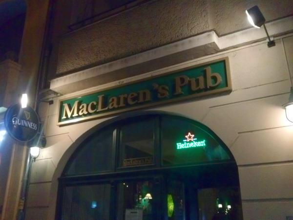 Das MacLaren's in Berlin lädt dazu ein die Mutter eurer Kinder zu treffen