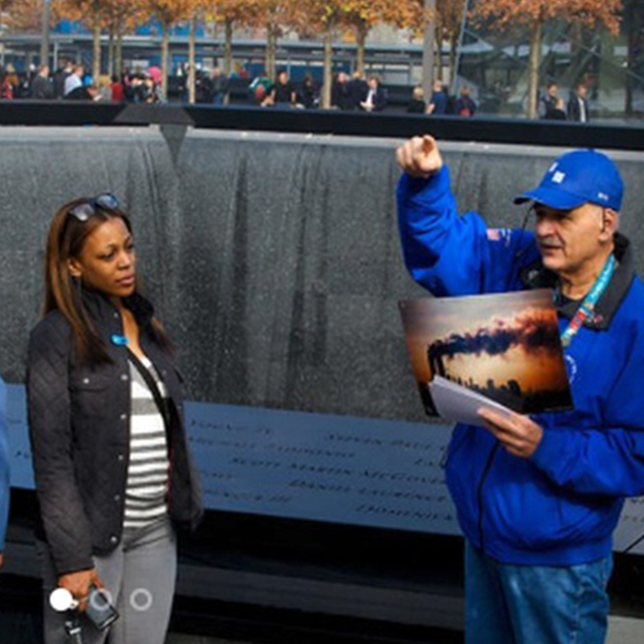 tour at 9/11 tribute museum
