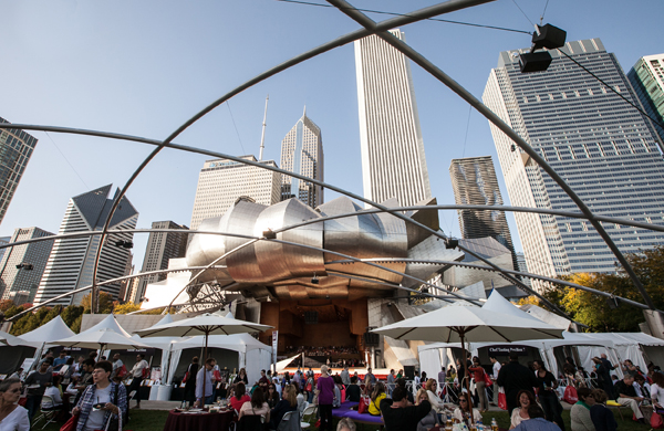 Trending and Tasting at Chicago Gourmet in Millennium Park