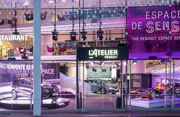 passion auto L'Atelier Renault