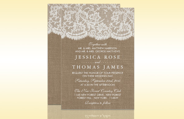 Wedding invitation etiquette tips to choose the right wording invitation designers counsel couples to use formal wording at least on the invitation card even if theyre having a less traditional wedding stopboris Image collections