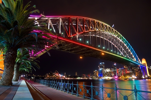 Vivid Sydney is a key winter festival which Groupon sells cruises for