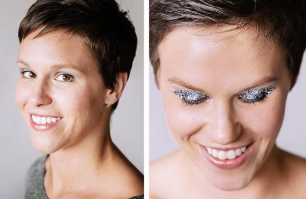 One Trend, Two Ways: Metallic Eyeshadows