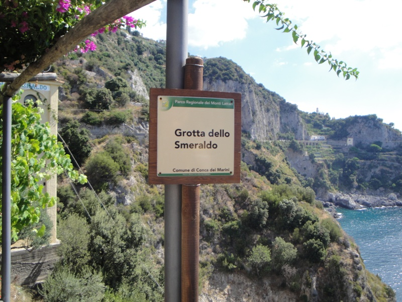 Grotta dello Smeraldo Conca