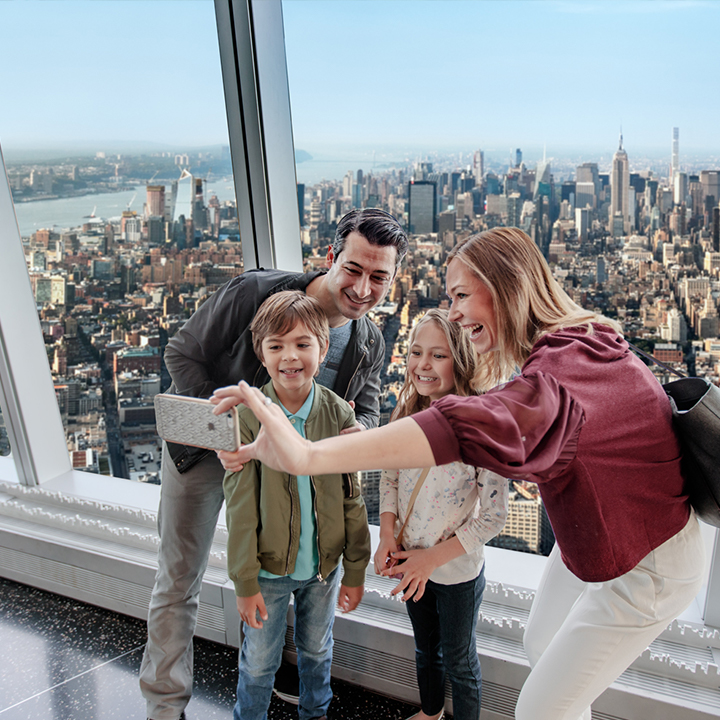 family at one world observatory