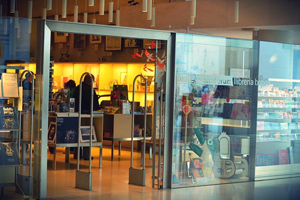 Librería Caixa Forum Barcelona