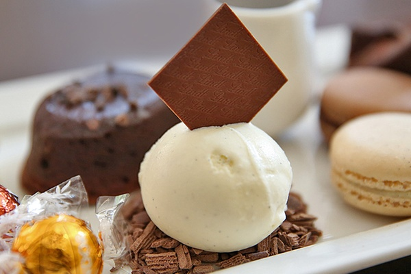 Lindt chocolate cafe is a great winter time dessert option from Groupon