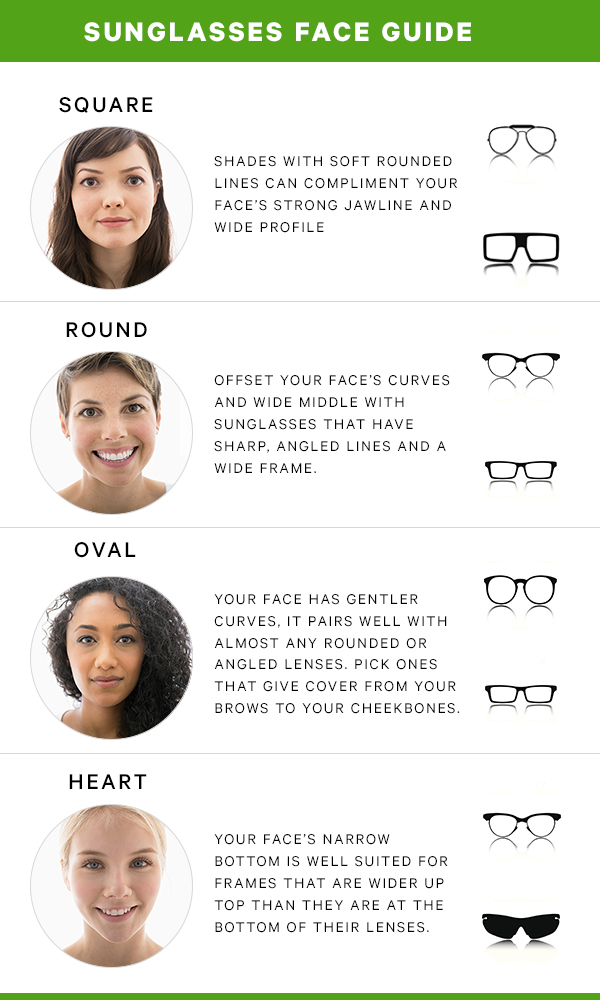 The Best Types Of Sunglasses For Every Face