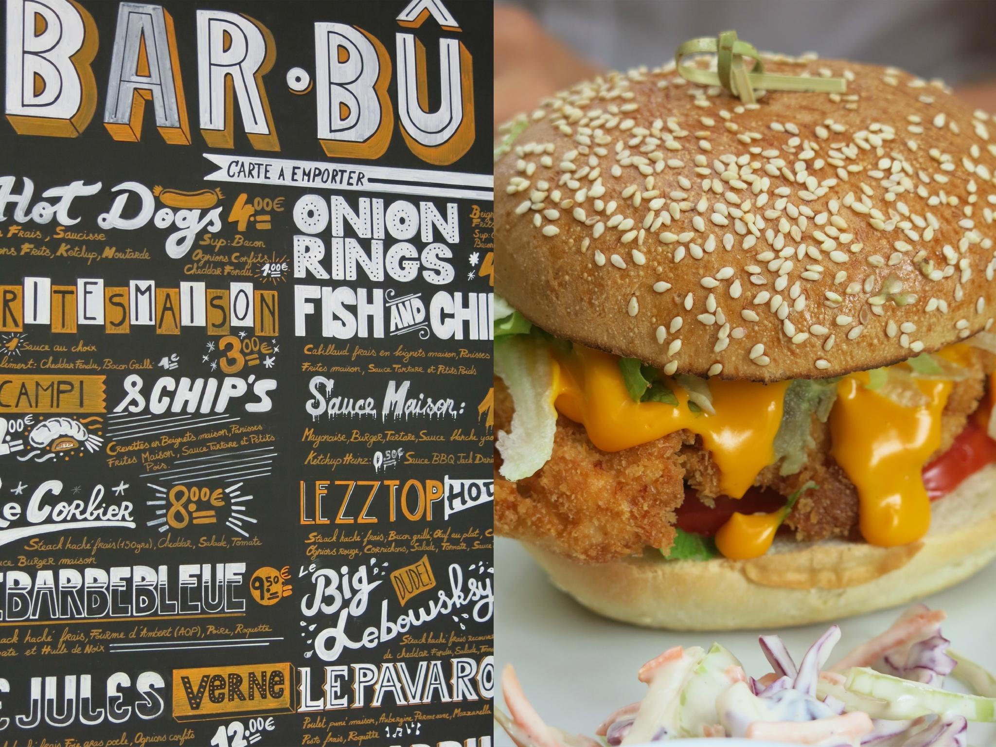 Marseille et la Burger tendance...
