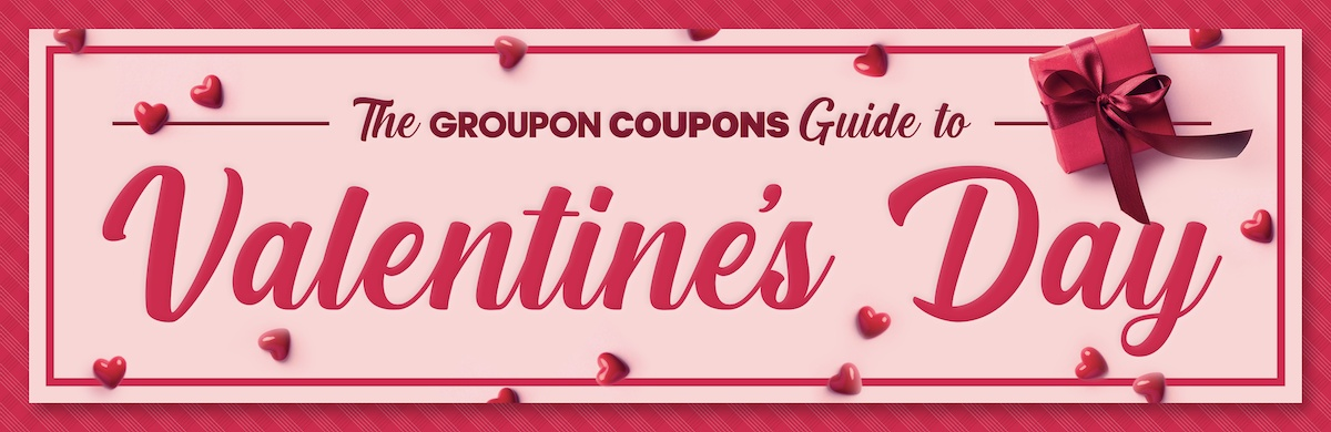 Valentine's Day Gift Guide from Groupon Coupons