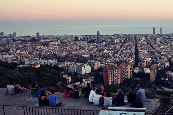 Mirador Baterias Barcelona