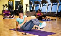 women work out at Women's Fitness of Boston