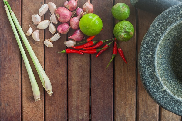 Fresh ingredients are important for any Thai menu with Groupon