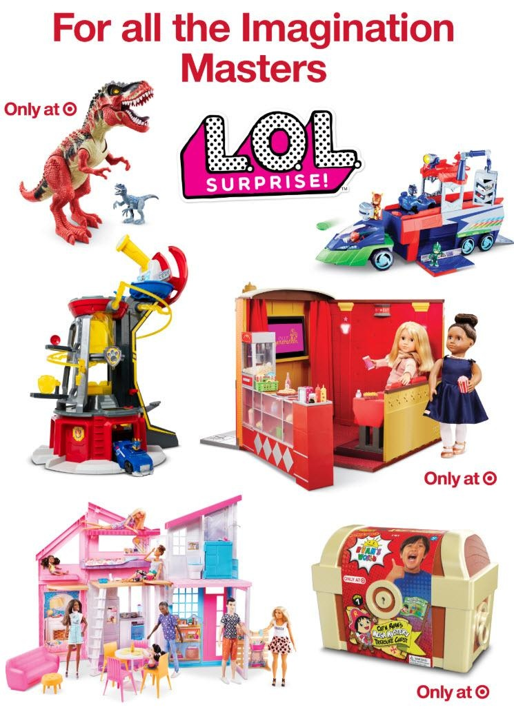 Target Black Friday 2019 Toy Ad