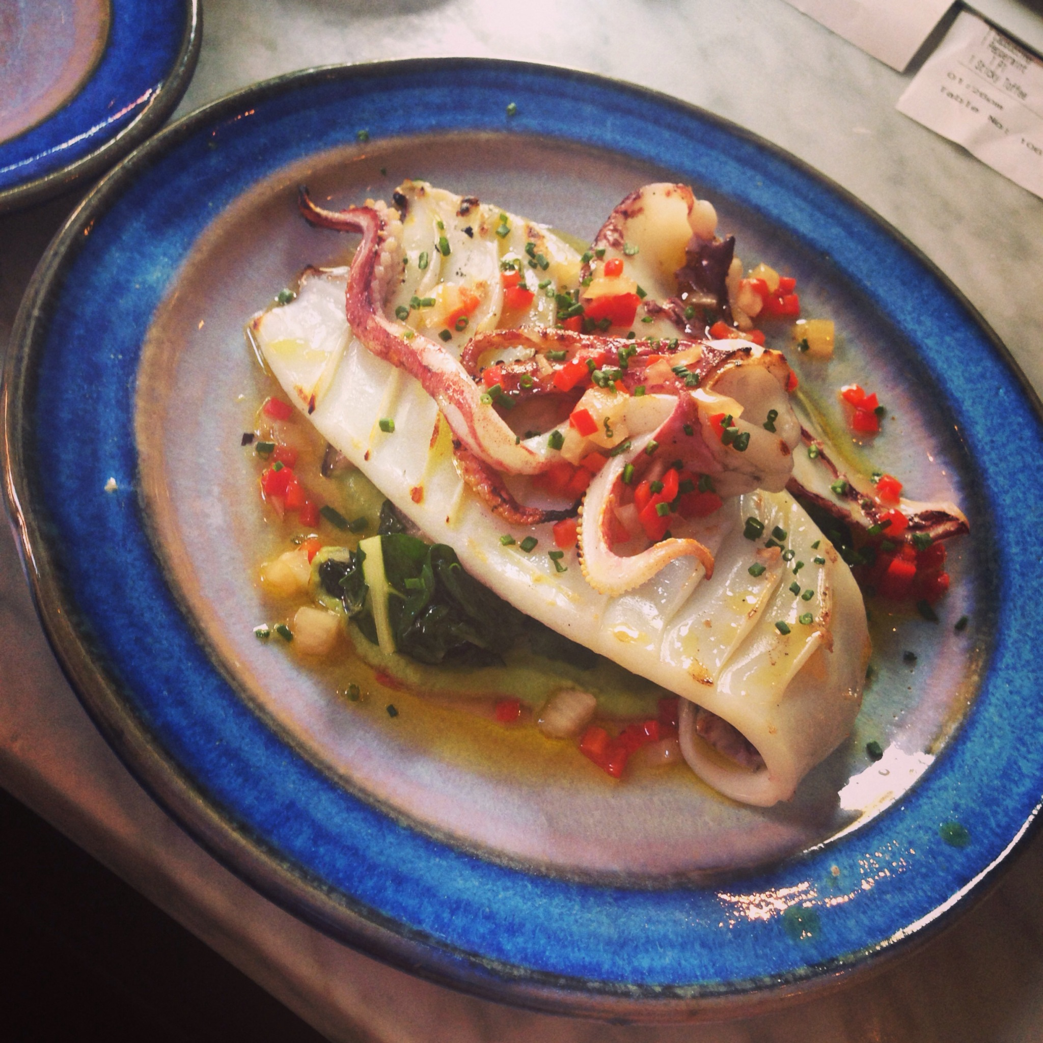 Seafood Restaurants London - Newman St Tavern