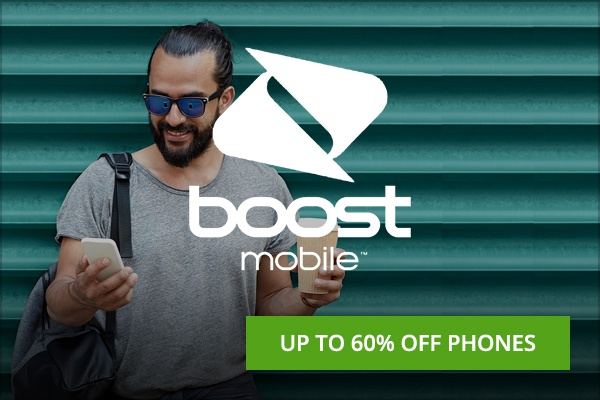 Boost Mobile cell phone Black Friday deals