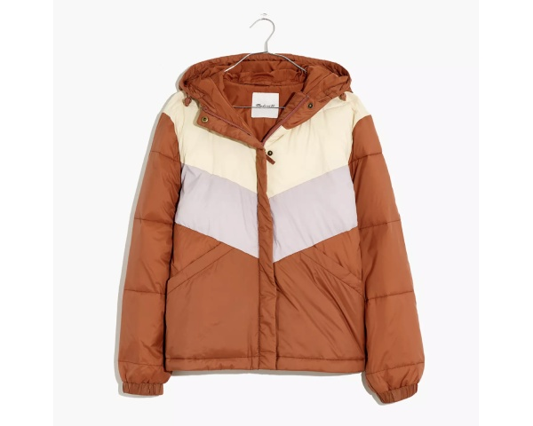 Best travel gifts, Madewell Packable Puffer Jacket