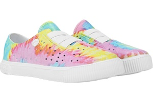 Back to School Shoes Rainbow Sneakers