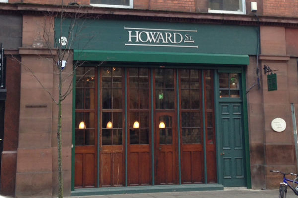 Howard St Restaurant - a popular choice for pre-theatre menu Belfast